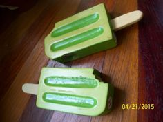 green creamsicle popsicles salt pepper shakers s&p set target iscream disc line Salt Pepper Shakers, Salt And Pepper, Good Enough To Eat, Kitchen Stuff, Popsicles, Celery, Target, Vegetables, Green