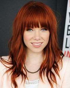 Bangs: Carly Rae Jepsen - 20 Back To School Hairstyles For Every Personality - Back to School - Fashion - InStyle
