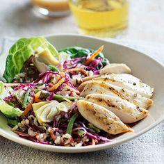 Chicken-Brown Rice Salad