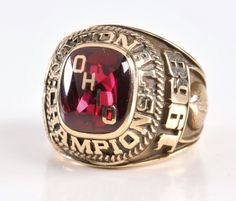 Ohio State Football National Champions ring 1968