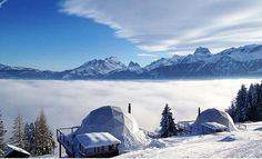 一度は泊ってみたい! スイスの心地よさそうなドーム型ホテル | roomie(ルーミー)