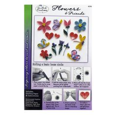 Get Flowers & Friends Quilling Kit online or find other Quilling products from HobbyLobby.com