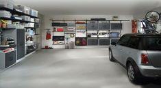 Ordnung in der Garage - Wie können Sie die Garage richtig organisieren