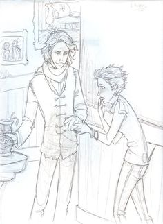 Part two of how Tonks and Remus could have met :)