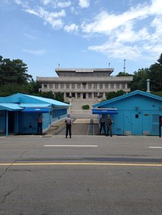 The DMZ between South and North Korea