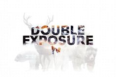 Double Exposure Photoshop Action Pro by Krystal Designs Co. on @creativemarket