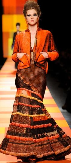 Jean Paul Gaultier haute couture, spring 2013 | The House of Beccaria
