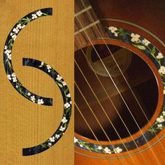 $14 - Rosette (Flowers) Inlay Sticker Decal Acoustic Guitar http://www.ebay.com/itm/Rosette-Flowers-Inlay-Sticker-Decal-Acoustic-Guitar-/151094107961?pt=Guitar_Accessories&hash=item232de91f39