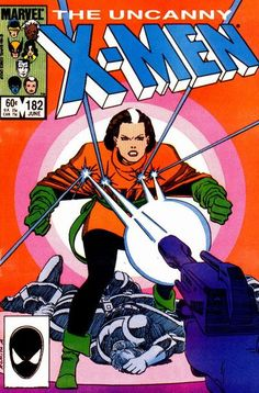 Cover for The Uncanny X-Men (Marvel, 1981 series) #182 [Direct Edition]