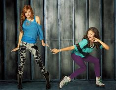 Bella Thorne & Zendaya: New 'Shake It Up' Promo Pics!: Photo Check out these fun new promo pics of Bella Thorne and Zendaya for Shake It Up! Teenager Outfits, Outfits For Teens, Cool Outfits, Casual Outfits, Disney Outfits, Disney Channel Shows, Disney Shows, Old Disney, Disney Girls