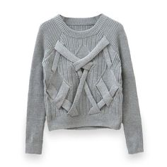 THIS  KNITTED PATTERN JUMPER