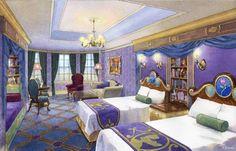 Beauty and the Beast Suite, Tokyo Disneyland Hotel, Tokyo Disney Resort