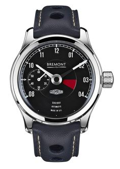 Bremont Lightweight E-Type Chronometer Watch In Collaboration With Jaguar Cars