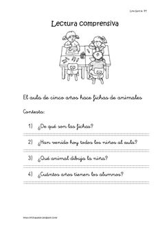 Lecturas comprensivas 01 05 by Natalia Garcia via slideshare