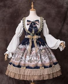 The Fair of Camelot Lolita Corset Jumper Dress