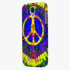 Awesome! This Abstract Psychedelic Tie-Dye Peace Sign Samsung Galaxy S4 Cases is completely customizable and ready to be personalized or purchased as is. It's a perfect gift for you or your friends.