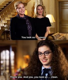 The Princess Diaries...I haven't seen this movie in years, this is definitely a must watch soon!!