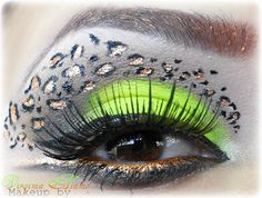 Neon Animal Print https://www.makeupbee.com/look.php?look_id=87804