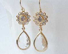 drop earrings – Etsy