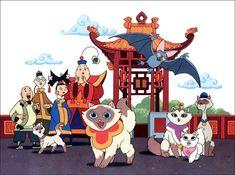 Sagwa - the Chinese Siamese Cat. I always thought I was like Sagwa and Katelyn was like Sheegwa. :D
