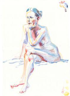 Adam Murphy - Life Drawing at the Botanics, Glasgow Life Drawing, Sketchbooks, Glasgow, My Drawings, Painting, Art, Watercolor Painting, Art Background, Sketch Books
