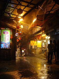 Taiwan Night Market Asia, Neo Tokyo, World Street, Cyberpunk City, Taipei, China Travel, Taiwan Night Market, Hong Kong Night, Travel Tips