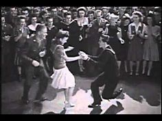 Swing Fever: I infer this is from a movie;  I love to watch someone change partners during a swing dance!  It's always so neat!