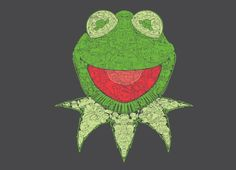 Muppetational Mosaic by James Carroll; new Threadless t-shirt design for the release of the new Muppet movie