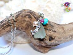 Sea Glass Jewelry from Hawaii by MermaidTearsDesigns, $26.00