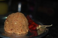 Coconut Tamarind Chutney A simple chutney goes well with wheat dosa and rice..