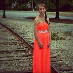 3 prom dress bundle *ORANGE DRESS SOLD* I'm selling these because I need them gone! I have worn all of them once except the 2 white ones, the white lace is a repost because it is to big and the plain white I have worn twice because I love it that much but have no use for it anymore! All in perfect conditions! Can be for weddings, prom, homecoming, military ball, anything really! Dresses