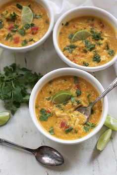 14. Thai Chicken and Butternut Soup #paleo #crockpot #recipes…