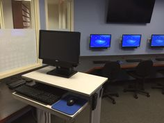 Our renovated Technology Center, thanks to a grant from Senator Flanagan. http://www.emmaclark.org/newtechnologycenter/