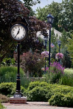 Clock in Frankenmuth, Michigan