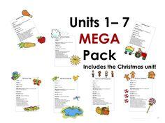 Units One - Seven MEGA Pack