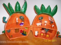 I'm not into Spongebob, but this Instamorph parent-created playset is INCREDIBLE!!
