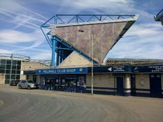 Home of world famous (or should that be infamous?) Millwall FC.