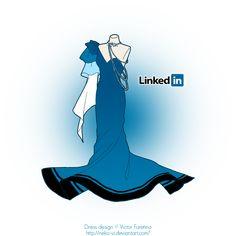 LinkedIn in Fashion by Neko-Vi.deviantart.com on @deviantART