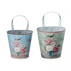 Ghivece Camelia set 2 buc H30-32 Shabby, Pots, Home Living, Cottages, Home Decor, Gardens, Accessories, Classic Chic, Flowers