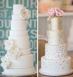 Bobette and Belle Wedding Cakes