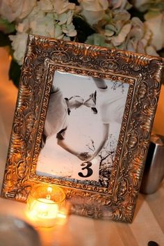 20 DIY Wedding Table Number Ideas| Confetti Daydreams – Wedding Blog
