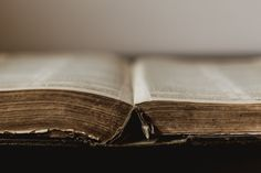 Free Rustic Old Book Open At Centre Image: Browse 1000s of Pics