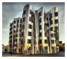 Medienhafen Düsseldorf, Germany - Frank O. Gehry