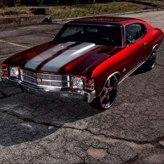 1972 Chevrolet Chevelle SS - Cars and motor Chevy Chevelle Ss, Chevy Ss, Chevrolet Ss, Chevy Pickups, Chevy Camaro, Chevy Muscle Cars, Old School Cars, Mv Agusta, Sweet Cars