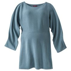 Adorable 3/4 sleeve maternity sweater. Wears well, washes decently too. #maternity #target   Merona® Maternity Long-Kimono Sleeve Sweater - Assorted Colors