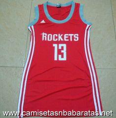 Camisetas Mujer Houston Rockets Harden #13 €22.99