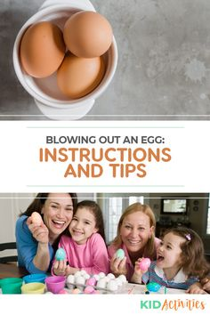 How to Blow Out an Egg: 3 Step-By-Step Methods - Kid Activities Quick And Easy Crafts, Diy Arts And Crafts, Crafts To Make, Crafts For Kids, Holiday Activities For Kids, Games For Toddlers, Easter Activities, Confetti Eggs, Winter Art Projects