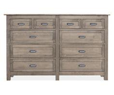 Room & Board - Bennett 72w 45h Ten-Drawer Dresser
