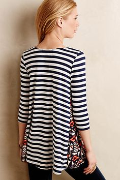 Pattern Play Swing Tunic - anthropologie.com
