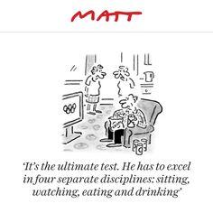 Matt cartoon, August 13